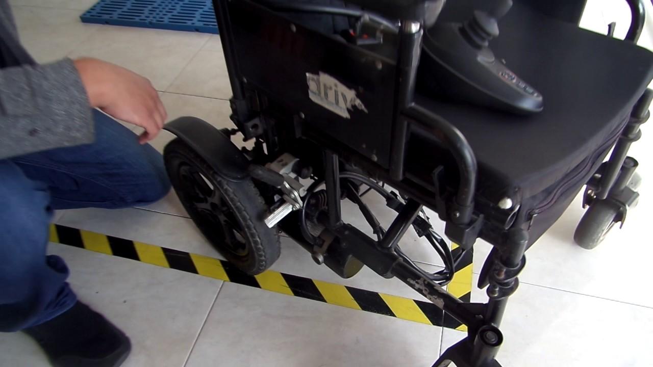 sillas de ruedas electricas mantenimiento