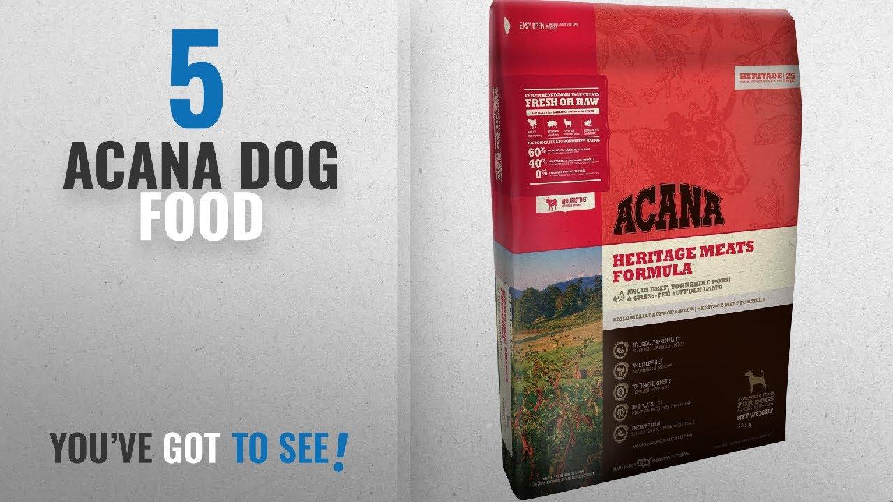 Top 5 Acana Dog Food 2018 Best Sellers Orijen Acana Heritage