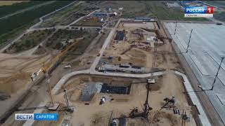 Как проходят работы на месте будущего нового аэропорта в Сабуровке?