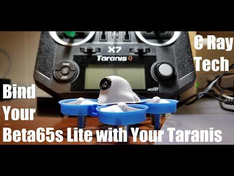 Setting up Your BetaFPV Beta 65s Lite with the Taranis QX7