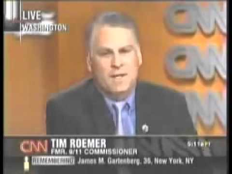 9/11 Commissioner Tim Roemer: Pentagon Pried Open By A Missile
