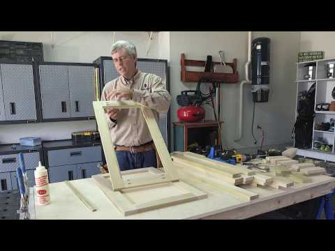 Kreg Kitchen Makeover Series Part 1: How To Create New Cabinet Doors
