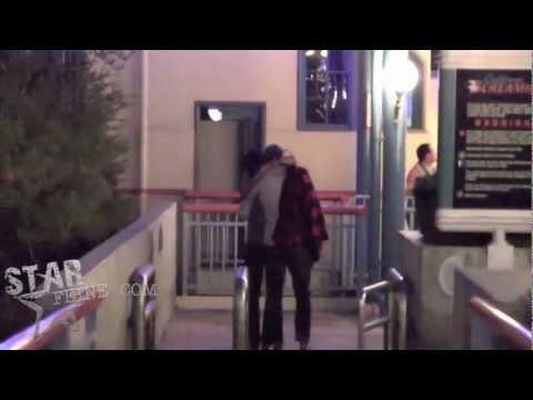Eva Mendes and Ryan Gosling at Disneyland!