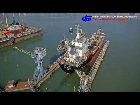 Proses Perbaikan Dan Turun Dok Dry-Dock Kapal MT Mundu