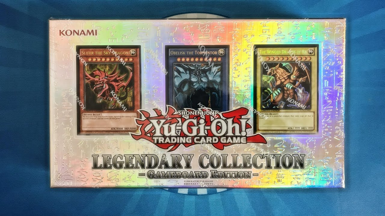 legendary collection gameboard edition card list