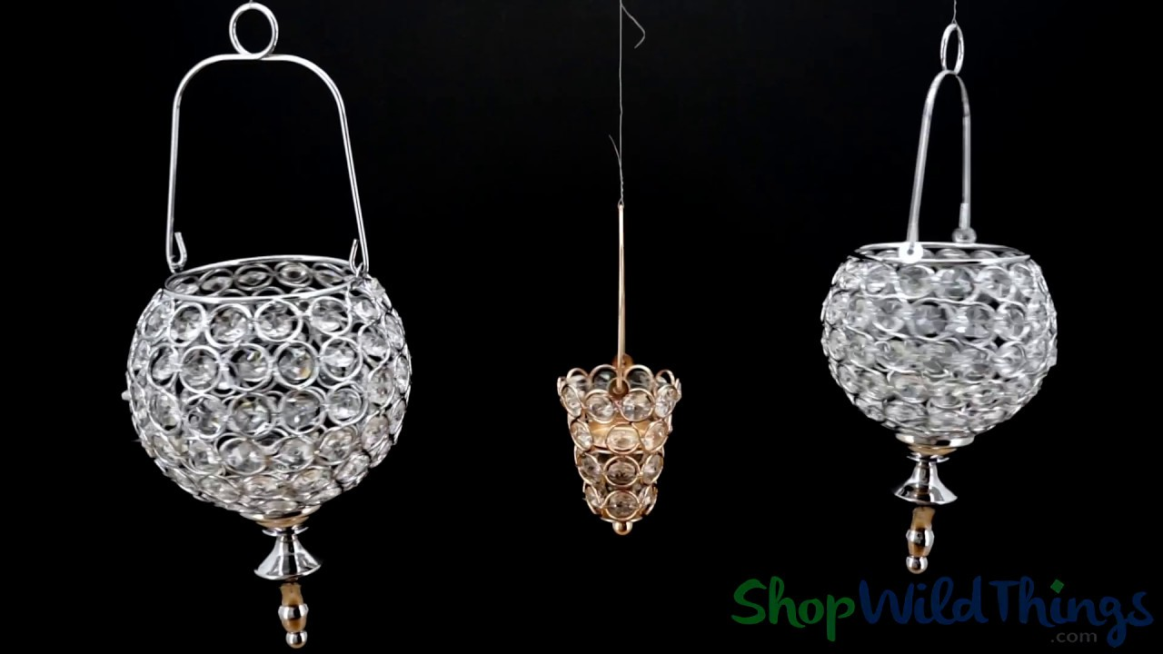 Prestige real crystal beaded hanging candle holders shopwildthings prestige real crystal beaded hanging candle holders shopwildthings aloadofball Choice Image