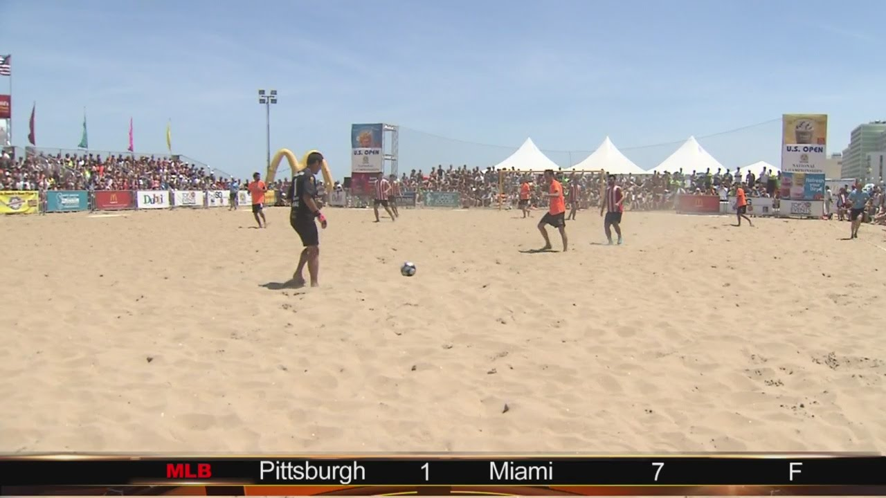 Sand Soccer Championship Returns To Virginia Beach