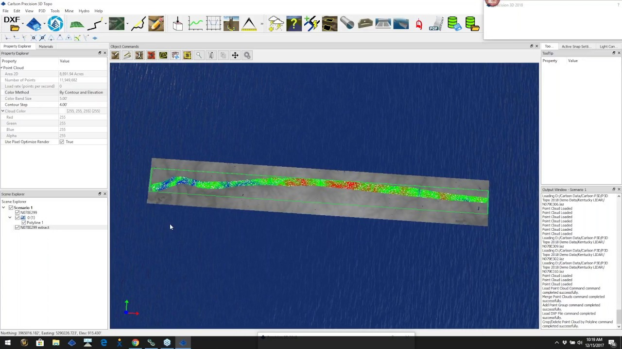 Precision D Topo Point Cloud Merge LIDAR And Aerial Drone - Drone mapping software free
