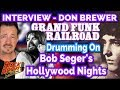 Capture de la vidéo Don Brewer On The Tricky Drumming On Bob Seger's Hollywood Nights