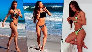 IFBB PRO Bikini SAYURI TORRES | Fantastic Body, BOOTY Workout, Spine-Thighs-Legs Exercises!