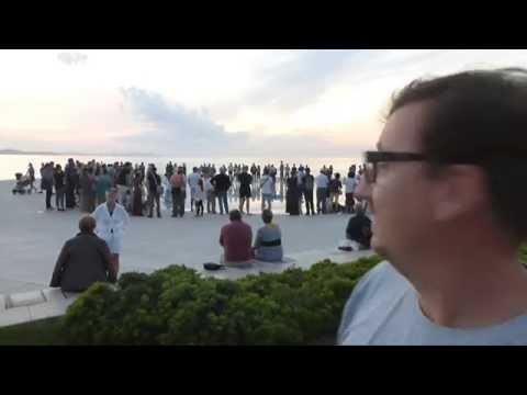 Zadar's Sea Organ and Sun Salutation, Croatia