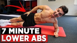 7min Lower Ab Workout (GET YOUR LOWER ABS TO SHOW!)