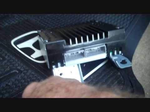 2004 Honda Cr V Radio Wiring Diagram Honda Accord Amplifier Removal Youtube