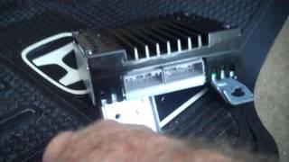 Honda Accord Amplifier Removal