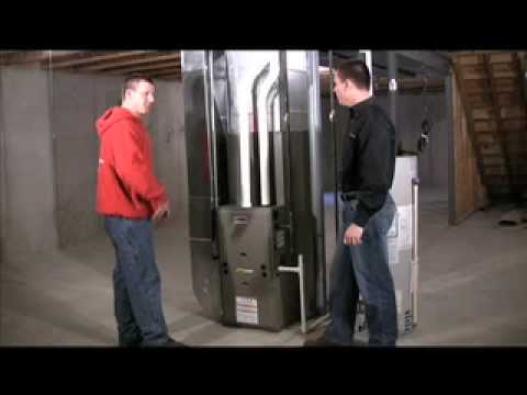 High Efficiency Natural Gas Furnace - EXPLAINED! - YouTube