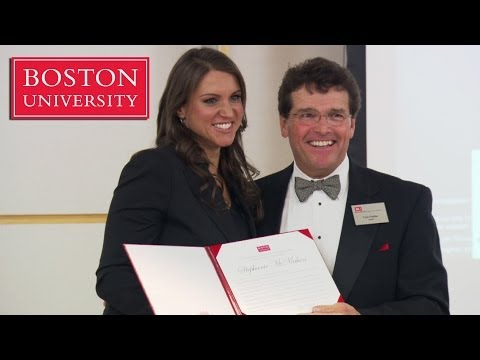 Stephanie McMahon receives The Distinguished Alumni Award from BU thumbnail