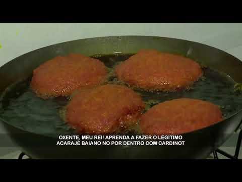 Receita completa de acarajé