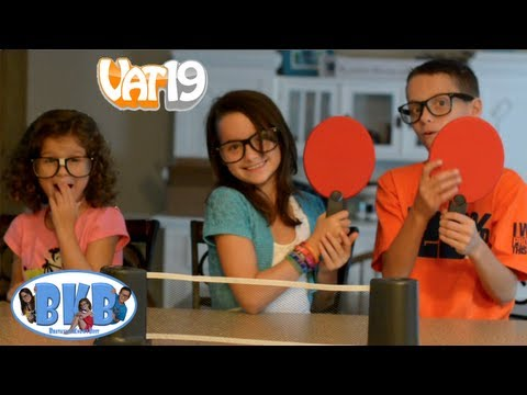 Bratayley Knows Ping Pong | Toy Review | Vat19 | BKB # 8