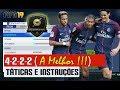 FIFA 19 | FORMAÇÃO 4-2-2-2 ( a melhor ! ), TÁTICAS PERSONALIZADAS E INSTRUÇÕES