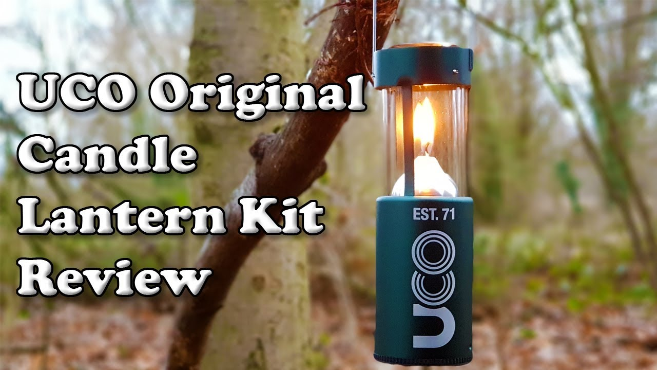 Camping-Emergency-BugOut Details about  / UCO Original Candle Lantern Oil Insert Starter Kit
