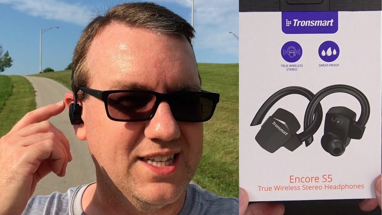eab5372e378 Bluetooth Wireless Earbuds with MicroUSB Hooks?? Tronsmart Encore S5 ...