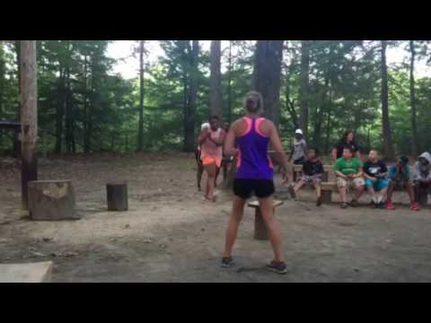 Camp Whitewood campfire
