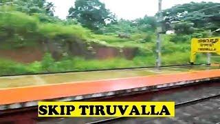 WAP4 Kochuveli Dehradun Skips Wet Tiruvalla