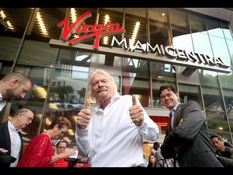 Jodi Stewart - Richard Branson Virgin Miami Central. High Speed Palm Beach to Orlando