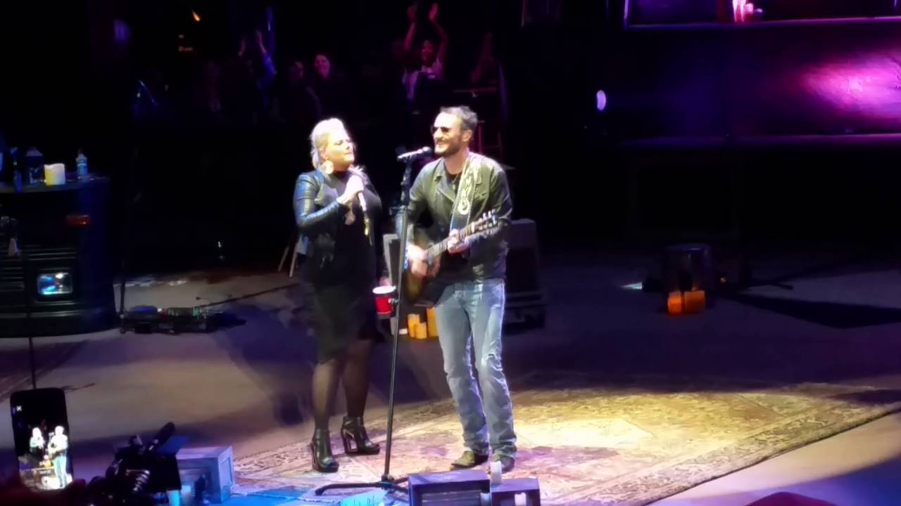 Eric church and joanna cotten over when its over