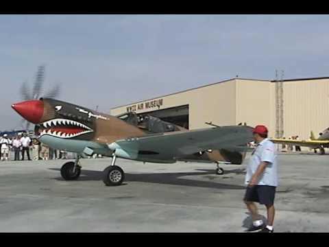 Palm Springs Air Museum Flight of the P40