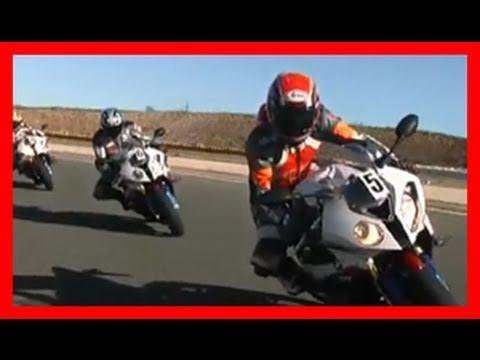 BMW S1000RR racetrack Almeria / 1000PS auf der Rennstrecke