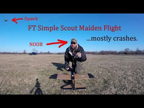FT Simple Scout Maiden Flight 1.0