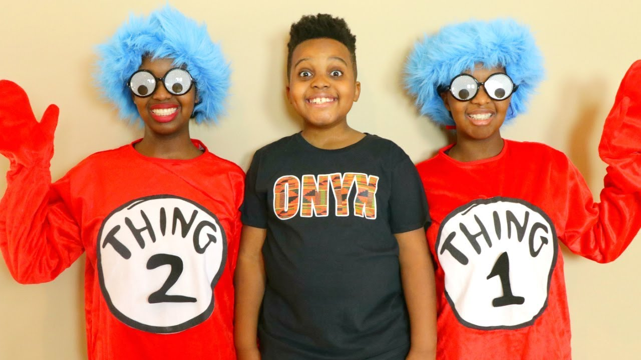 5201e797 THING 1 AND THING 2 Come To Visit! - Onyx Kids - YouTube