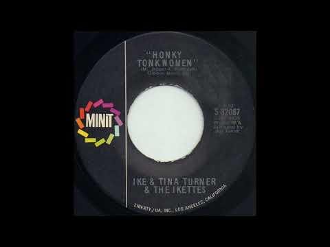 HONKY TONK WOMEN / IKE & TINA TURNER & THE IKETTES [MINIT S 32087]