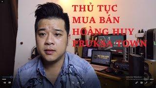 THỦ TỤC MUA BÁN NHÀ HOÀNG HUY PRUKSA TOWN