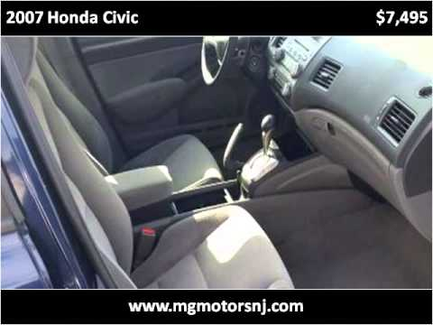 2007 Honda Civic Used Cars Perth Amboy Nj Youtube