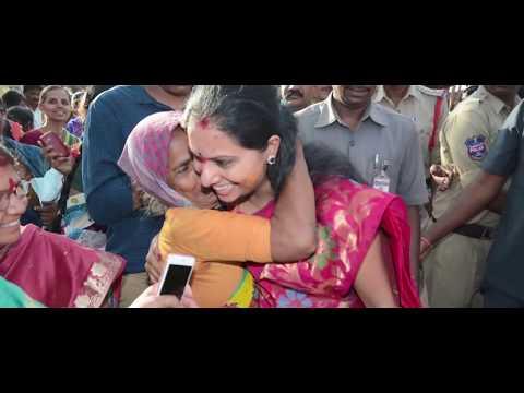 Kalvakuntla Kavitha Akka Birthday Song 2018 || Meday Rajeev Sagar || Telangana Jagruthi.
