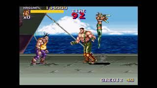 Final Fight 2 (1996 Capcom) Arcade Playthrough screenshot 4