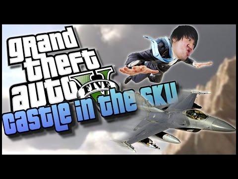 GTA 5 Online: A CASTLE IN THE SKY!?
