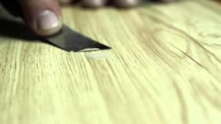 видео Как заделать трещины на паркетной доске