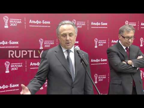 Russia: Confederation Cup Ticketing Centre opens in Moscow