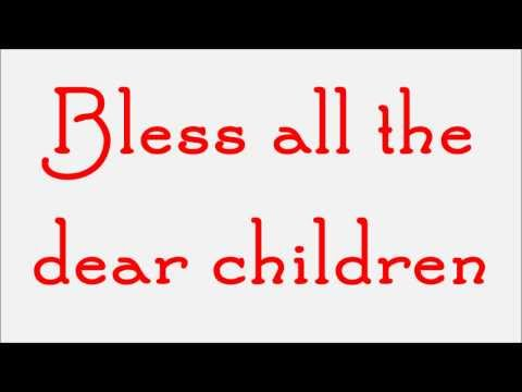 Glee - Away In A Manger (Lyrics) HD