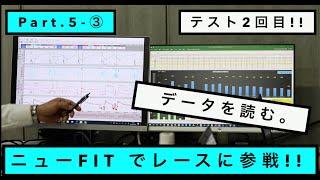 ミニJOY耐に向けて。テスト2回目!   TOKYO NEXT SPEED RACING TEAM  HONDA FIT e:HEV パート5.データを読む。編③【モータースポーツ連動企画 】