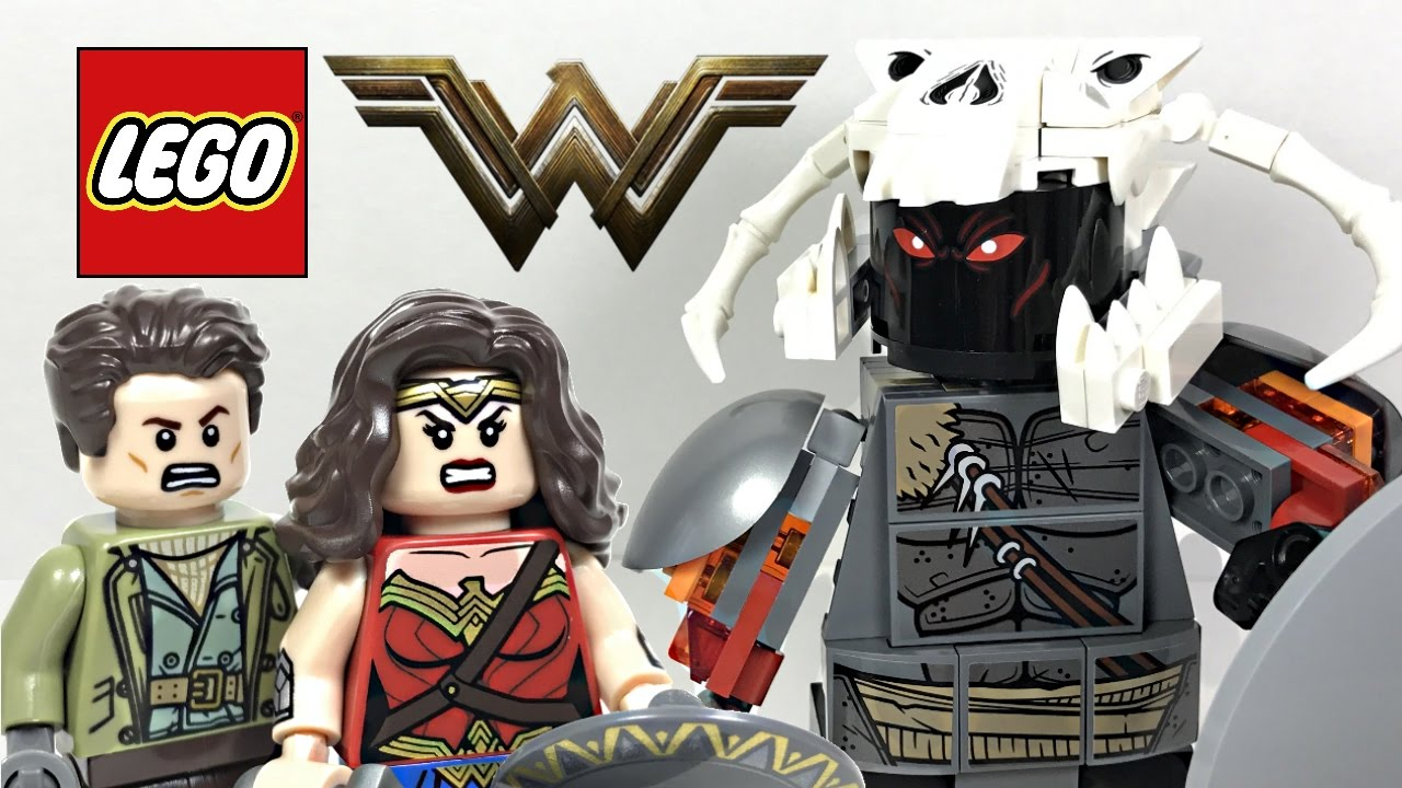 LEGO Wonder Woman Warrior Battle review! 2017 set 76075 ...