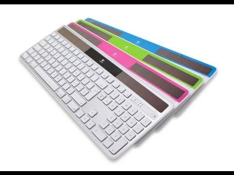 Review of the Logitech Wireless Solar Keyboard K750 (BEST MAC KEYBOARD)
