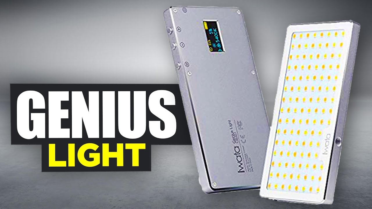 IWATA GENIUS LIGHT | GL-01 LED Light Review by OutTheBox