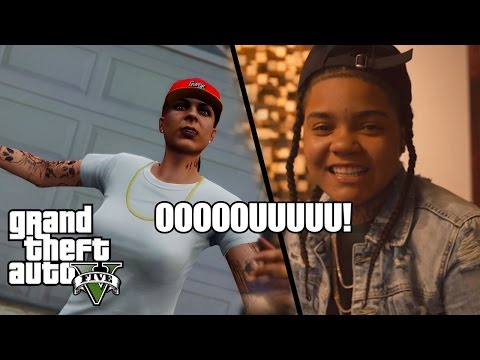 GTA 5 HOOD LIVESTREAM! (YOUNG M.A.) CHILLIN W/ FANS!