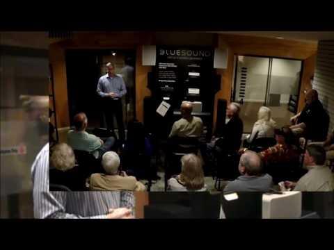 Audio Research Corporation and Bluebird Music(Spendor speakers) visit Wilson Audio in New Orleans