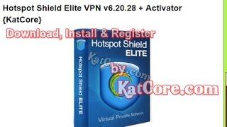 Hotspot Shield Elite VPN v6.20.28 + Activator {May-2017}
