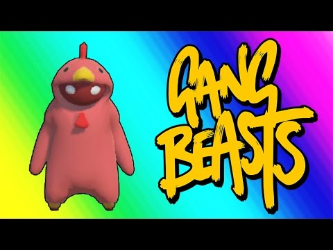 Thumbnail: Gang Beasts Funny Moments - Red Chicken Fighting Champion!